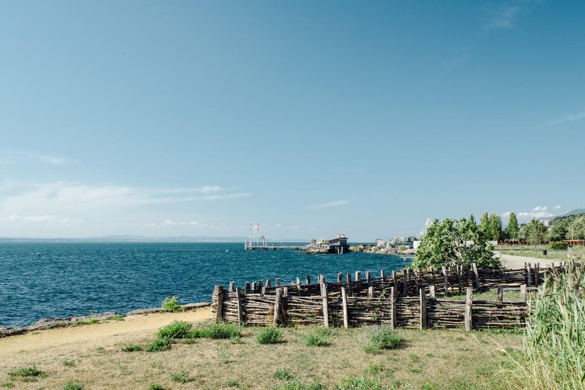 Laténium – Parc et musée d'archéologie de Neuchâtel – Rives du lac