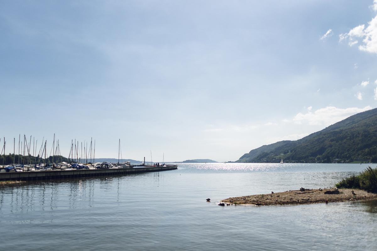 Les rives du lac de Bienne