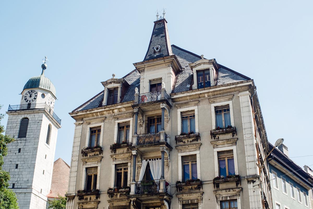 La Chaux-de-Fonds –Bâtiment de la quincaillerie Toulefer