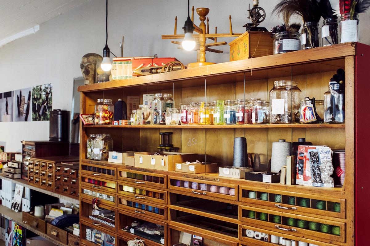 Materiotek Mercerie – Place de la Carmagnole, La Chaux-de-Fonds