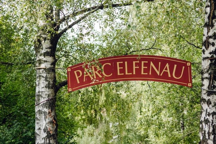 Bienne – Entrée du parc Elfenau