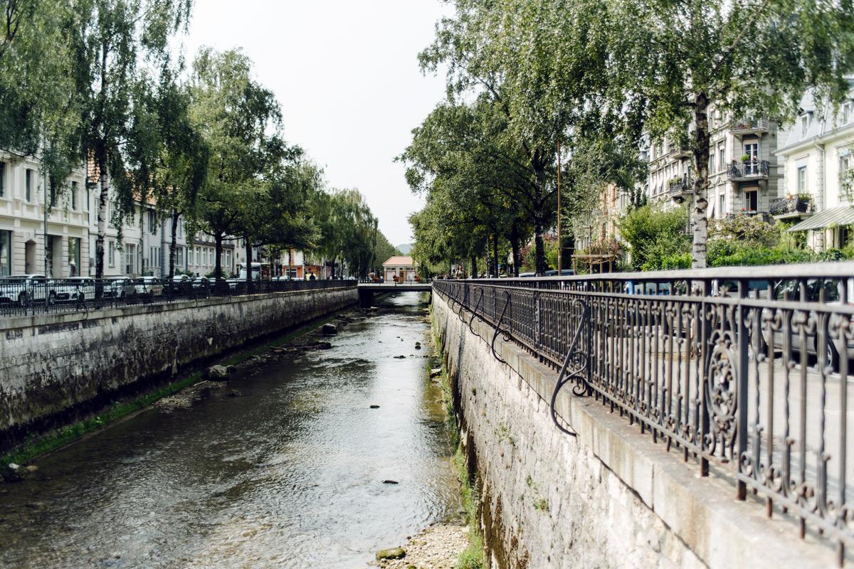 Bienne – Balade le long de la Suze, entre la Place Centrale et le lac
