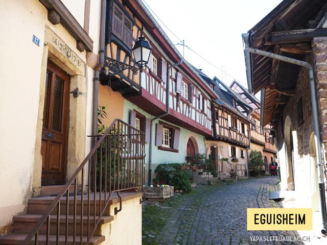 Les plus beaux villages alsaciens, Eguisheim – Y'a pas le feu au lac
