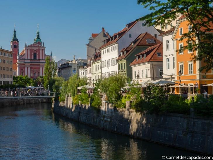 Visite de Ljubljana – Carnet d'Escapades