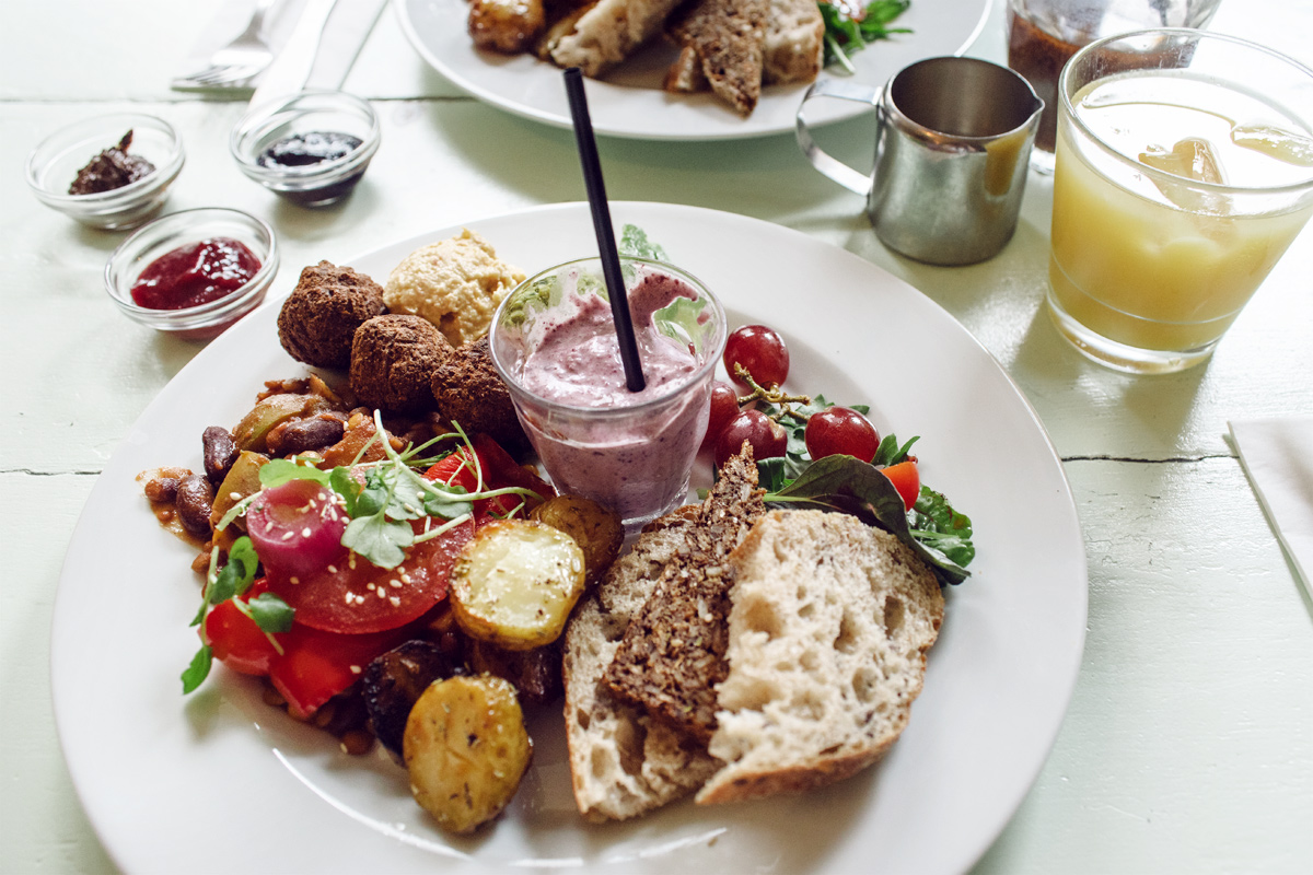 Copenhague, Kalaset – Brunch végétalien