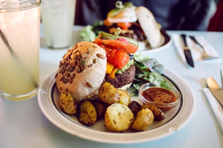 Kalaset, Copenhague –Burger végétalien