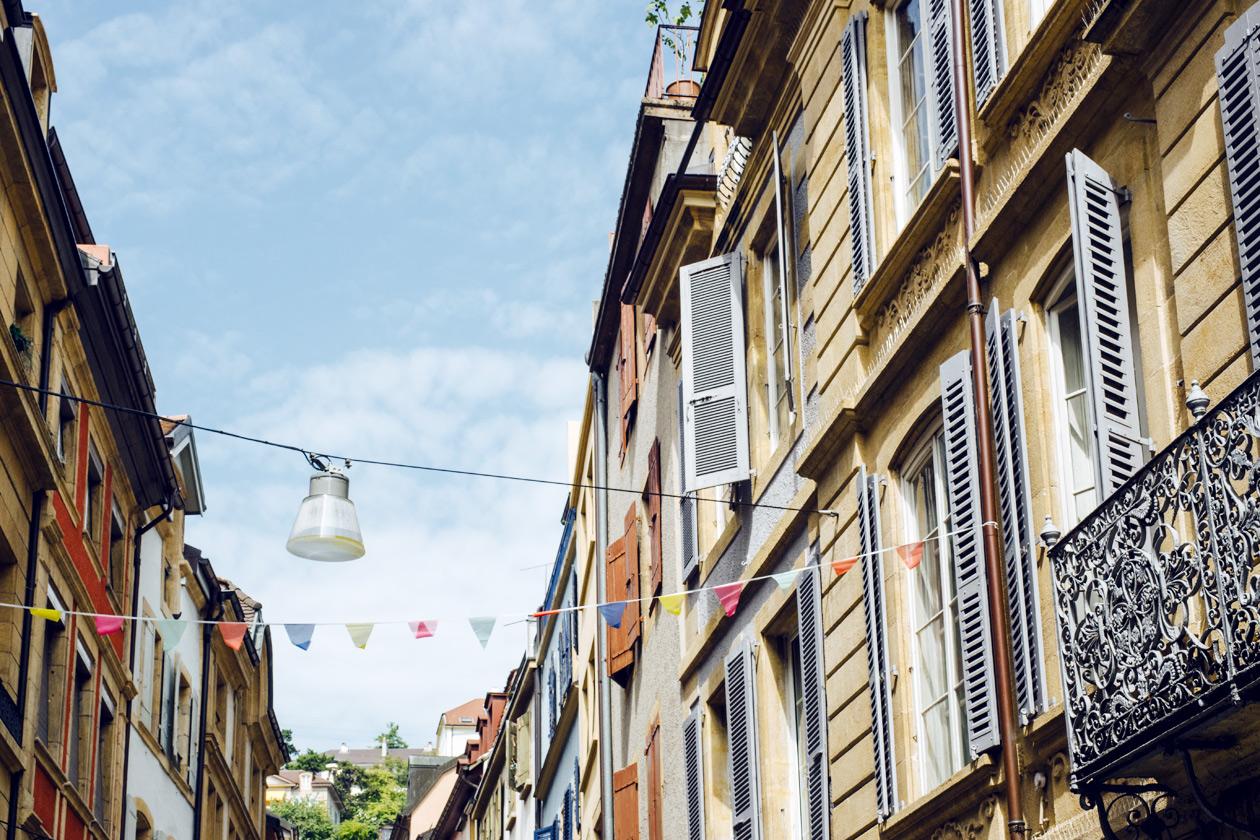 Vieille ville de Neuchâtel, rue des Moulins