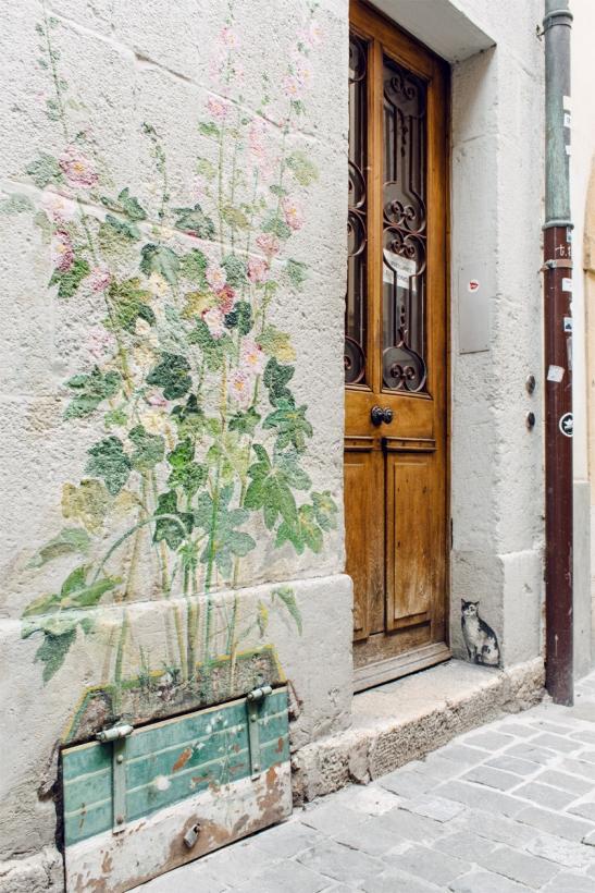 Neuchâtel à la Belle Époque – Les peintures d'Anne Monnier le long de la rue du Neubourg