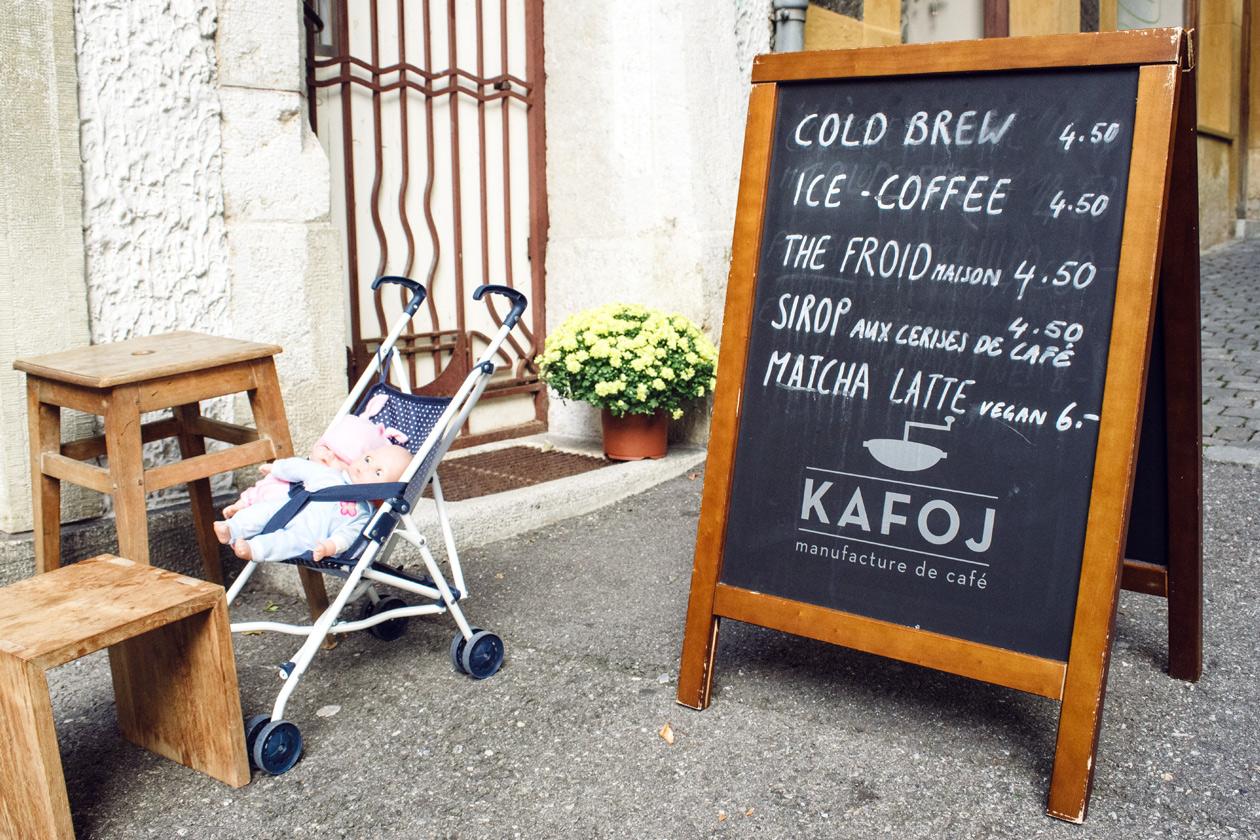 Vieille ville de Bienne – Kafoj, manufacture de café