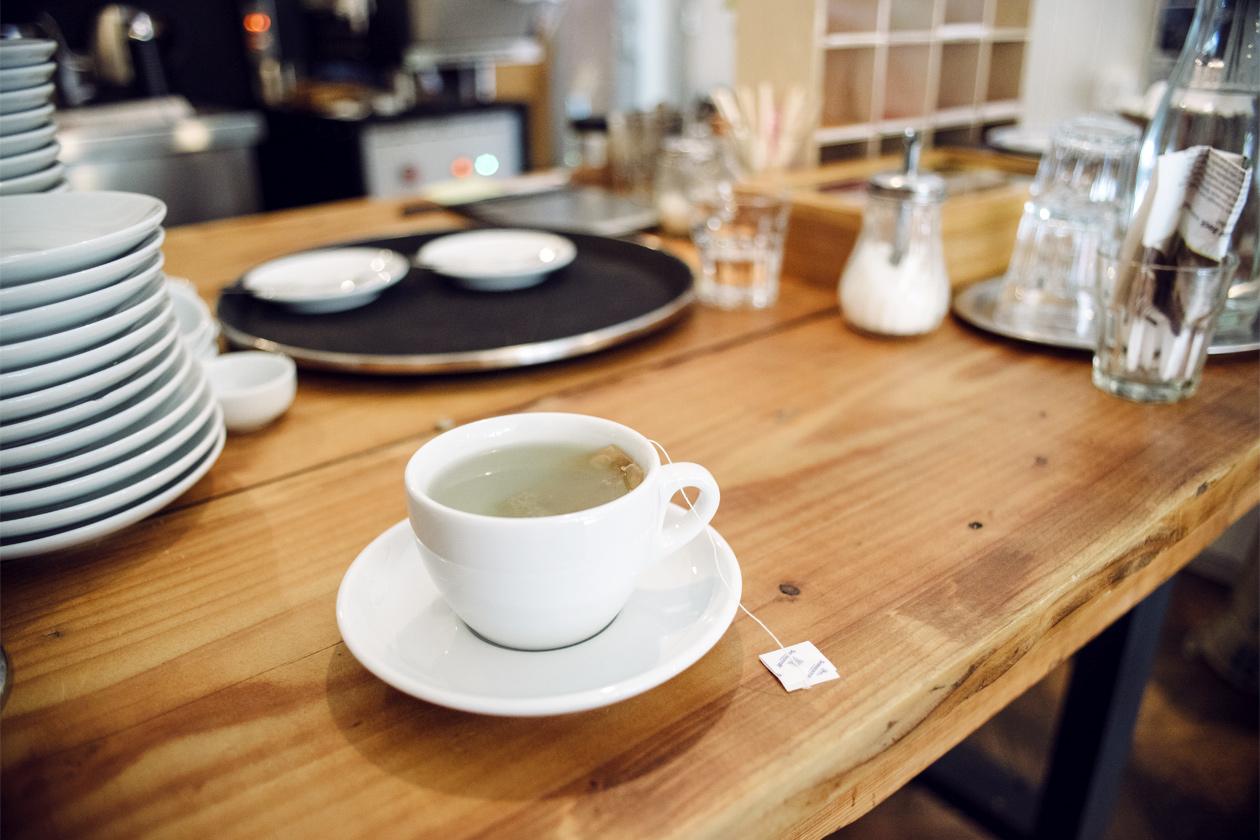 Vieille ville de Bienne – Kafoj manufacture de café – Infusion de grains de café verts