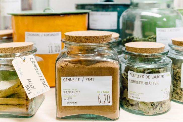 Vieille ville de Bienne – La Portion Magique, épicerie de vente en vrac