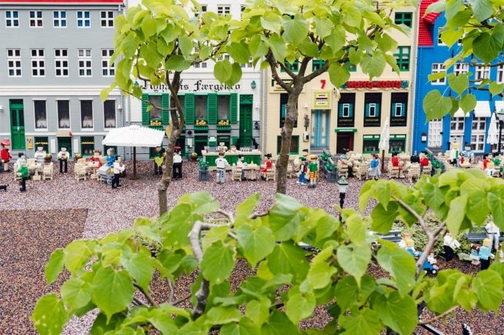 Parc Legoland de Billund, Danemark – Miniland, reproduction de Nyhavn
