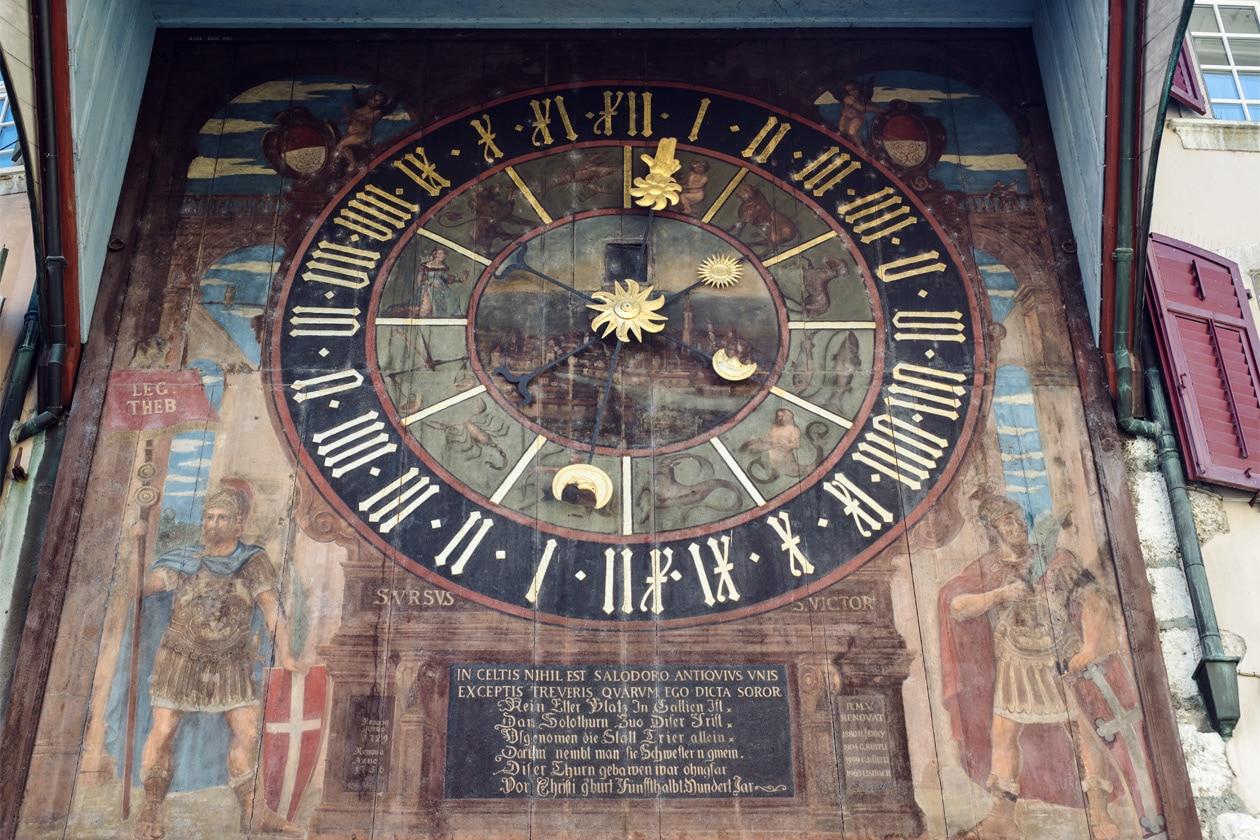 L'horloge astronomique de Soleure