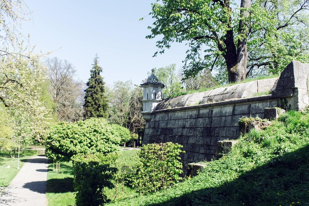Remparts de la vieille ville de Soleure
