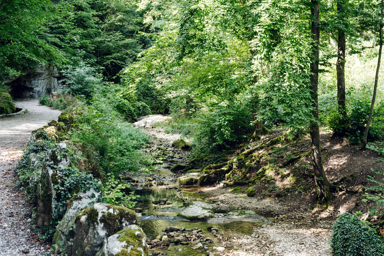 Balade dans les gorges de Sainte Vérène