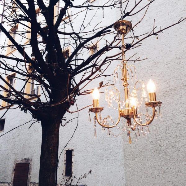 Décoration de fin d'année en vieille ville de Bienne