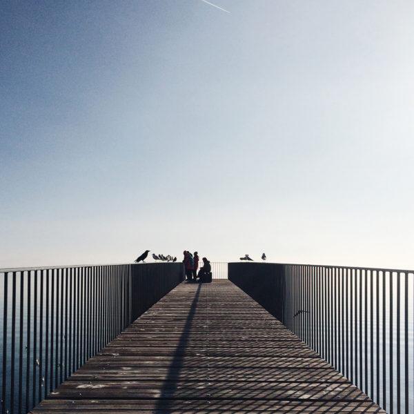 Bord du lac de Neuchâtel, Passerelle de l'Utopie