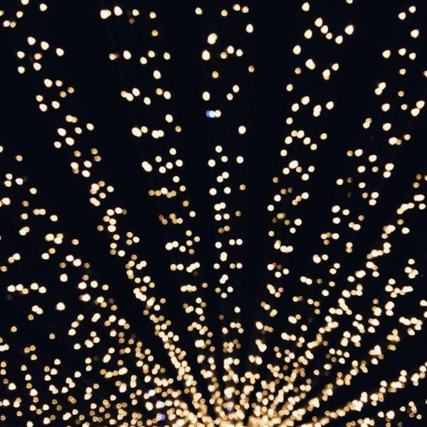 Illuminations de fin d'année en ville de Neuchâtel