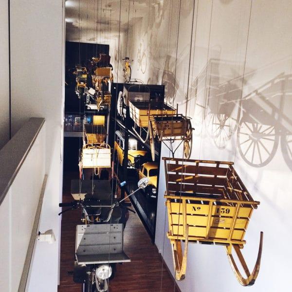 Visite du musée de la communication à Berne
