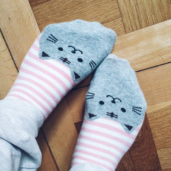 Mes petites chaussettes chat