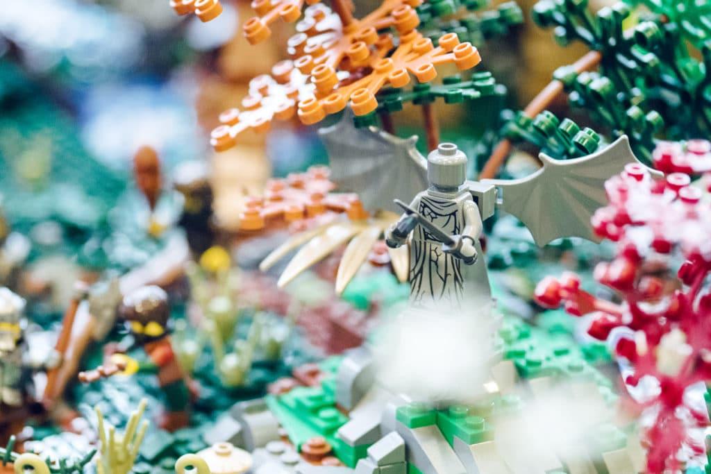 Swissbriques 2017 – Diorama médiéval, association Lelug