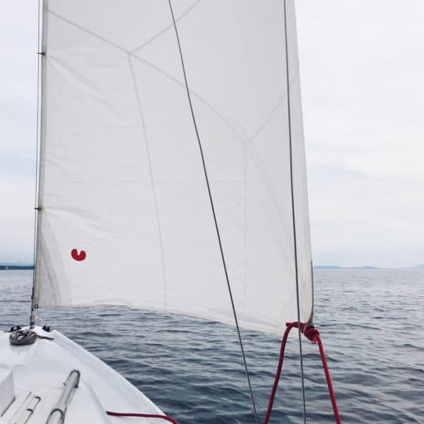 Première sortie en bateau sur le lac de Neuchâtel
