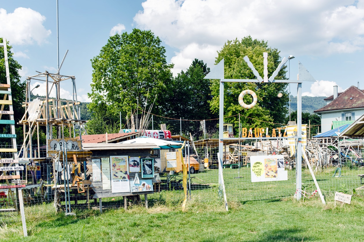 Terrain de la Gurzelen, Bienne – Chantier des enfants