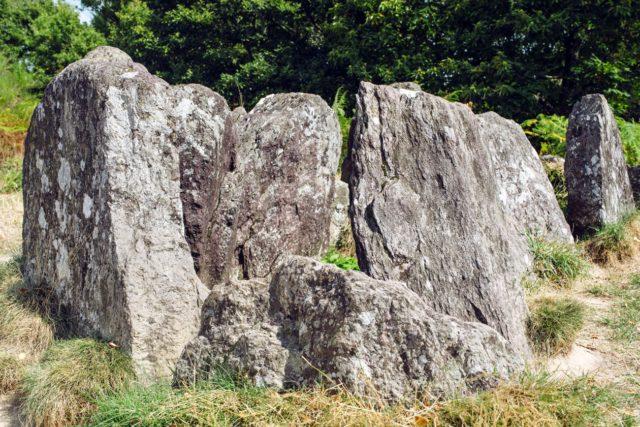 Bretagne, forêt de Paimpont: Hotié de Viviane