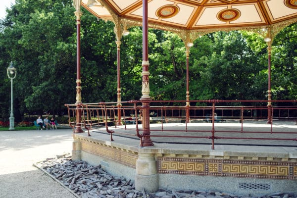 Rennes, parc du Thabor