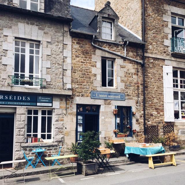 Les jolies rues de Bécherel, Cité du Livre bretonne