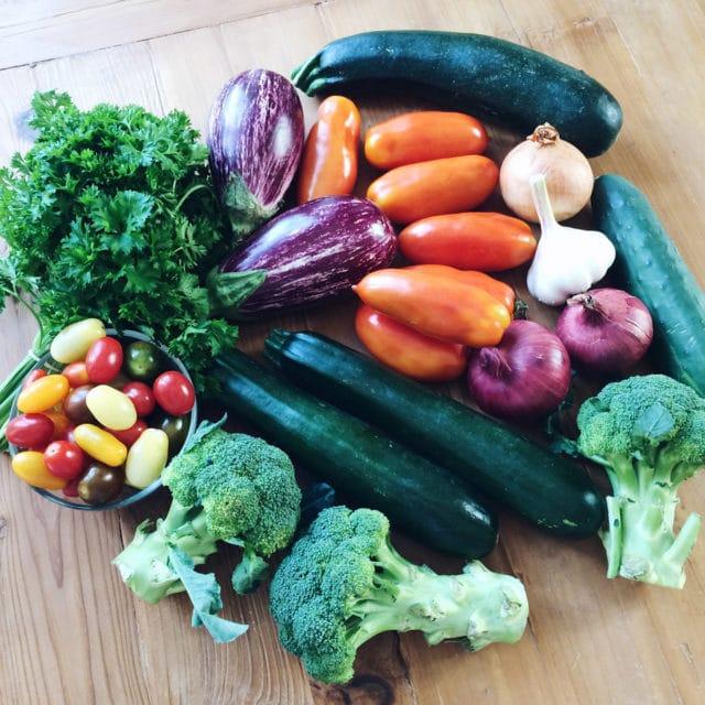 Légumes de fin d'été