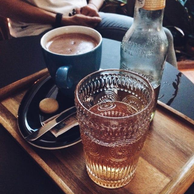 Limonade et chocolat chaud en douce compagnie