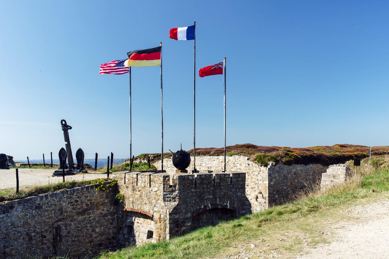 Bretagne: Musée-mémorial de la bataille de l'Atlantique, à Camaret-sur-Mer