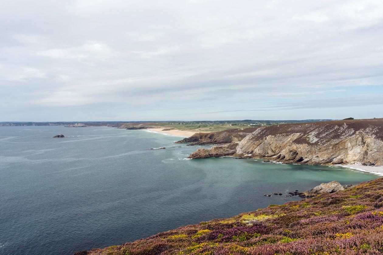 Bretagne: randonnée au Cap de la Chèvre sur la presqu'île de Crozon