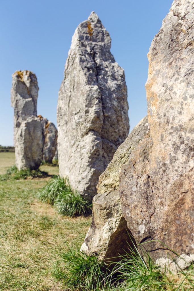 Bretagne: alignements de Lagatjar à Camaret-sur-Mer