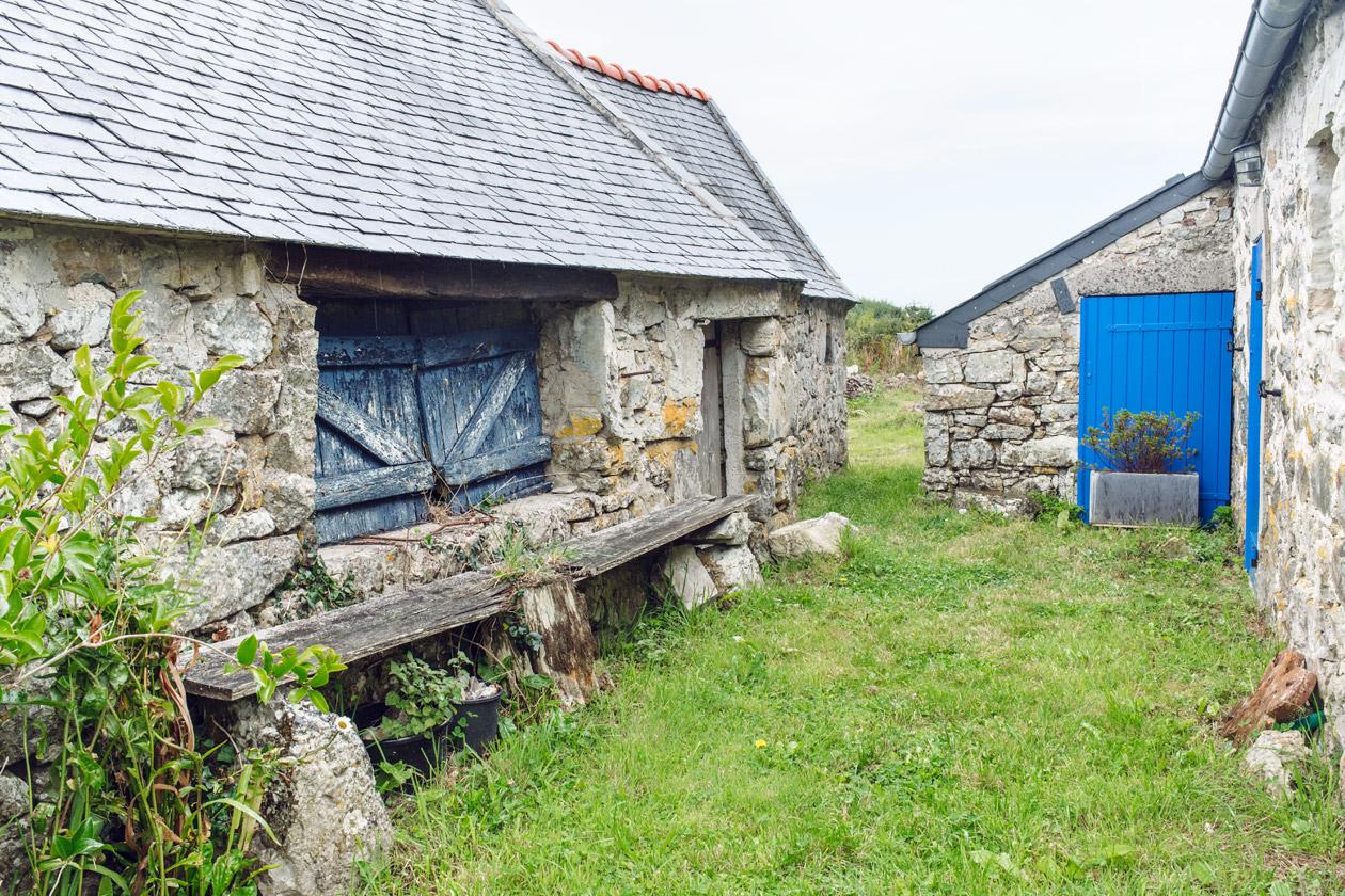 Bretagne: village classé de Rostudel sur la Presqu'ìle de Crozon