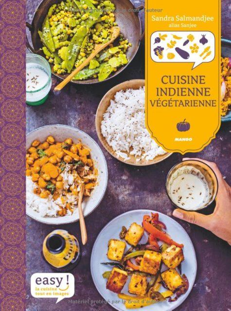 Cuisine indienne végétarienne, Sandra Salamandjee