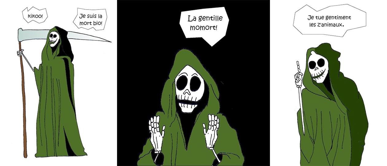 "Insolente Veggie, ""La mort bio"""