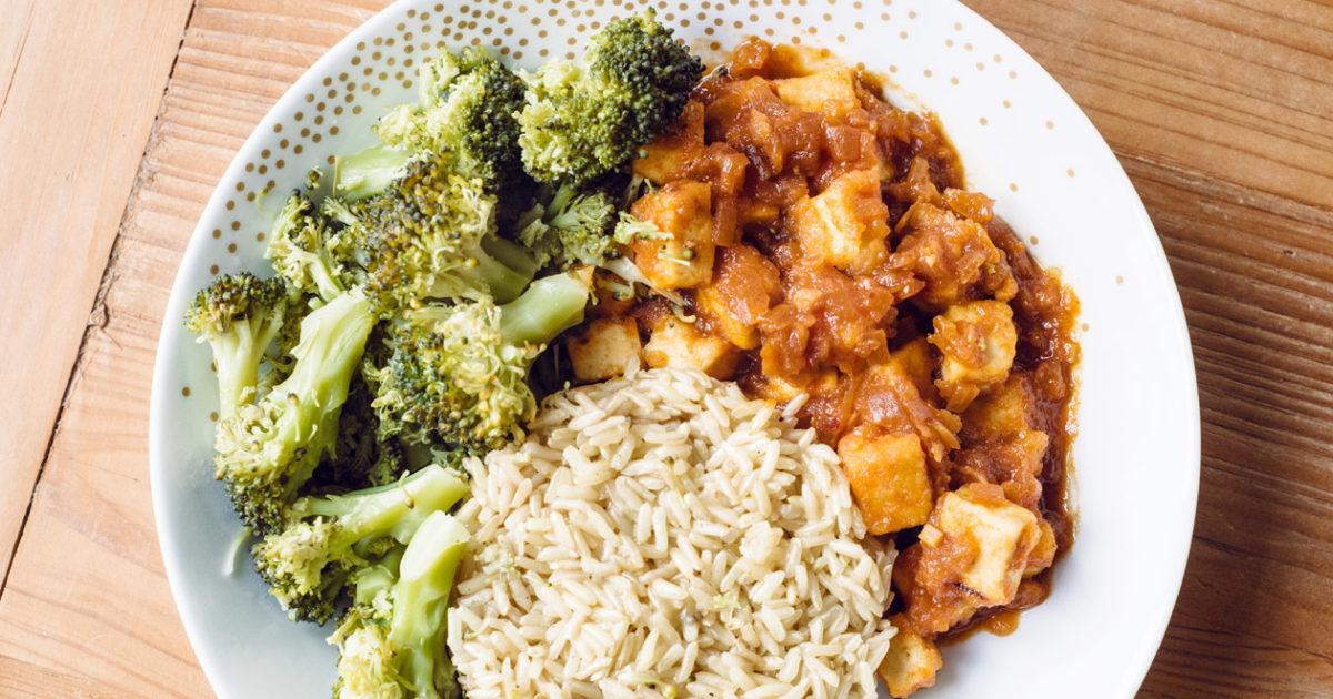 Une semaine de repas végétaliens –Novembre