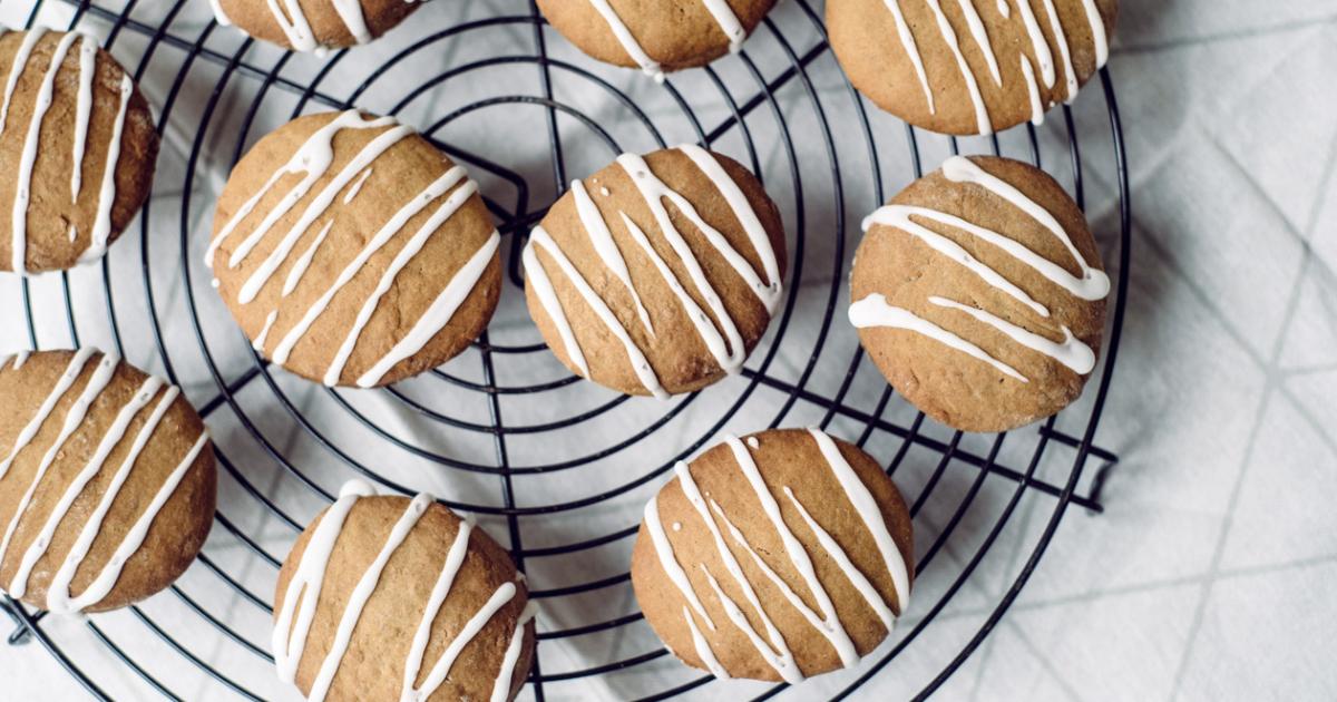 Des petits biscômes végétaliens