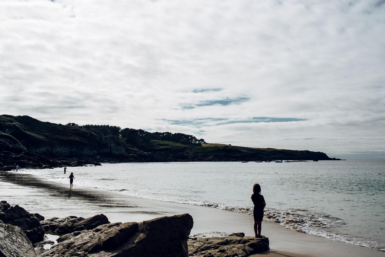 Bretagne – Réserve naturelle de Cap Sizun, Plage de Pors Peron