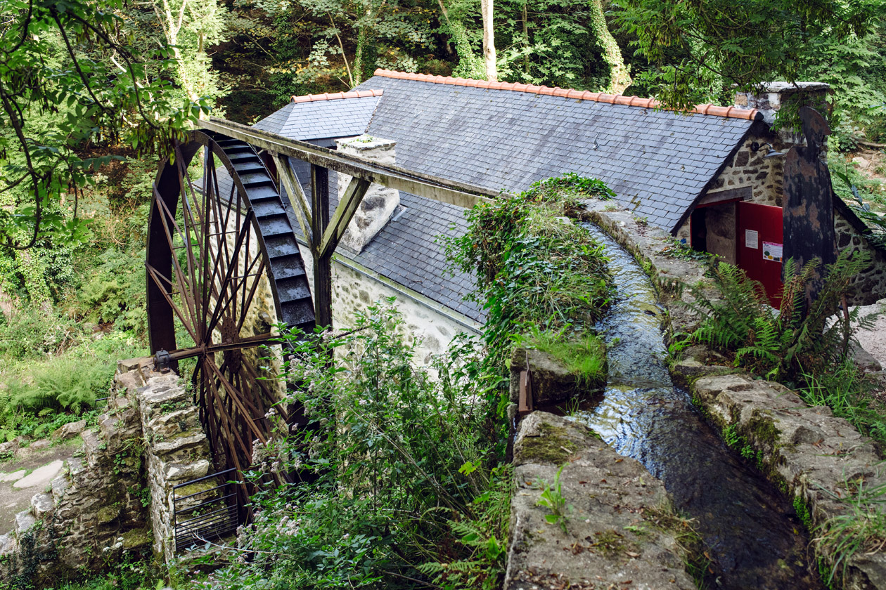 Bretagne – Réserve naturelle de Cap Sizun, Moulin de Keriolet