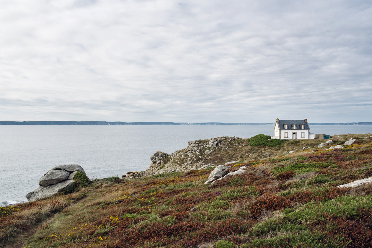 Bretagne – Réserve naturelle de Cap Sizun, Phare du Millier