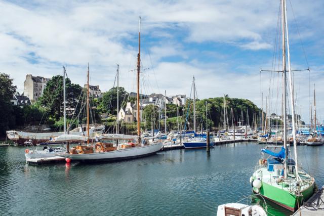 Bretagne: port musée de Douarnenez
