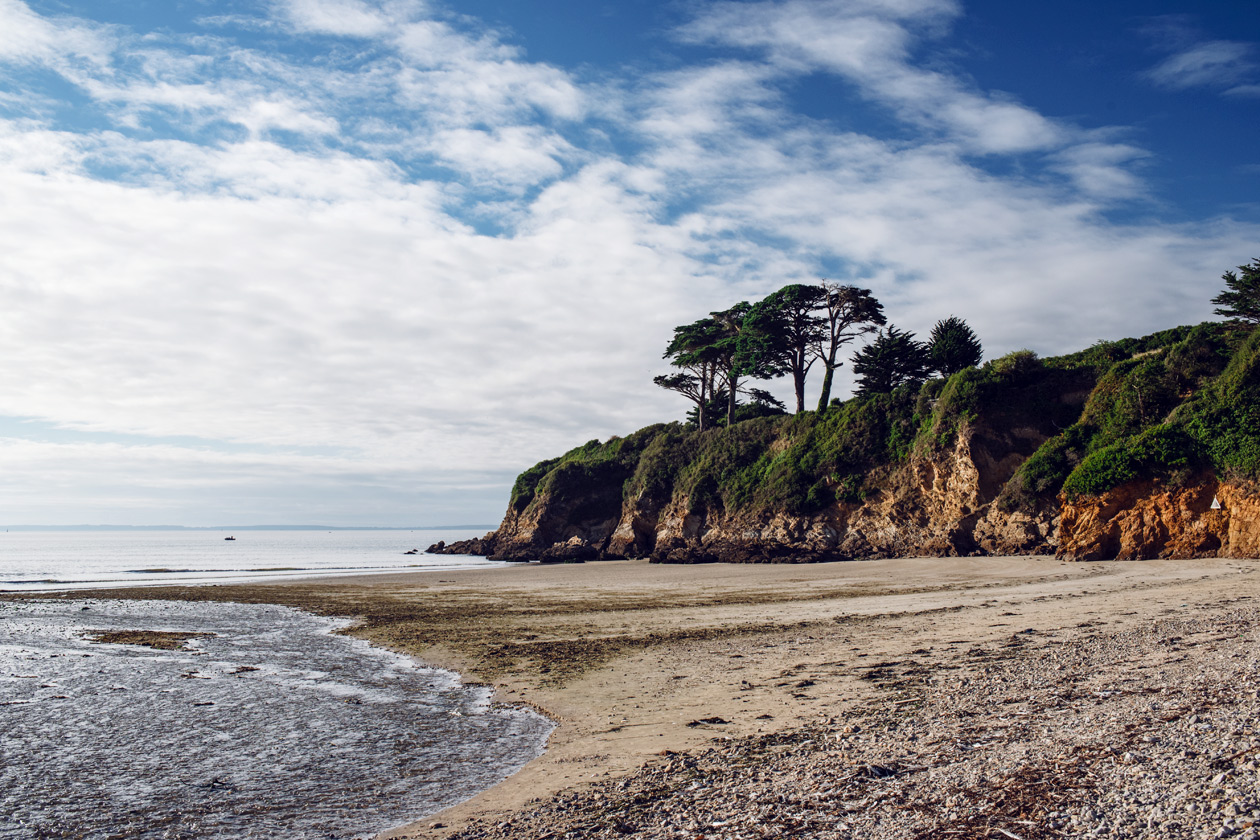 Bretagne – bord de mer à Douarnenez