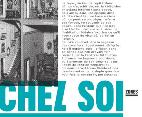 Couverture du livre Chez soi de Mona Chollet