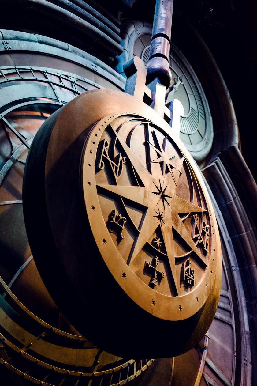 Visite des Studios Harry Potter à Londres – La grande horloge de Poudlard