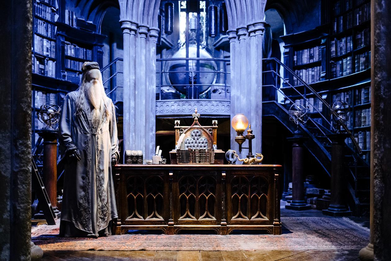 Visite des Studios Harry Potter à Londres – Le bureau d'Albus Dumbledore