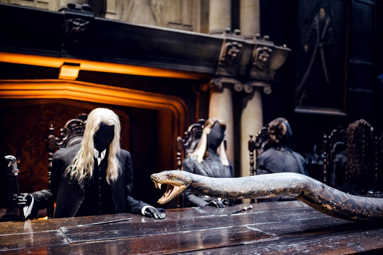 Visite des Studios Harry Potter à Londres – Réunion de Mangemort au manoir de la famille Malefoy