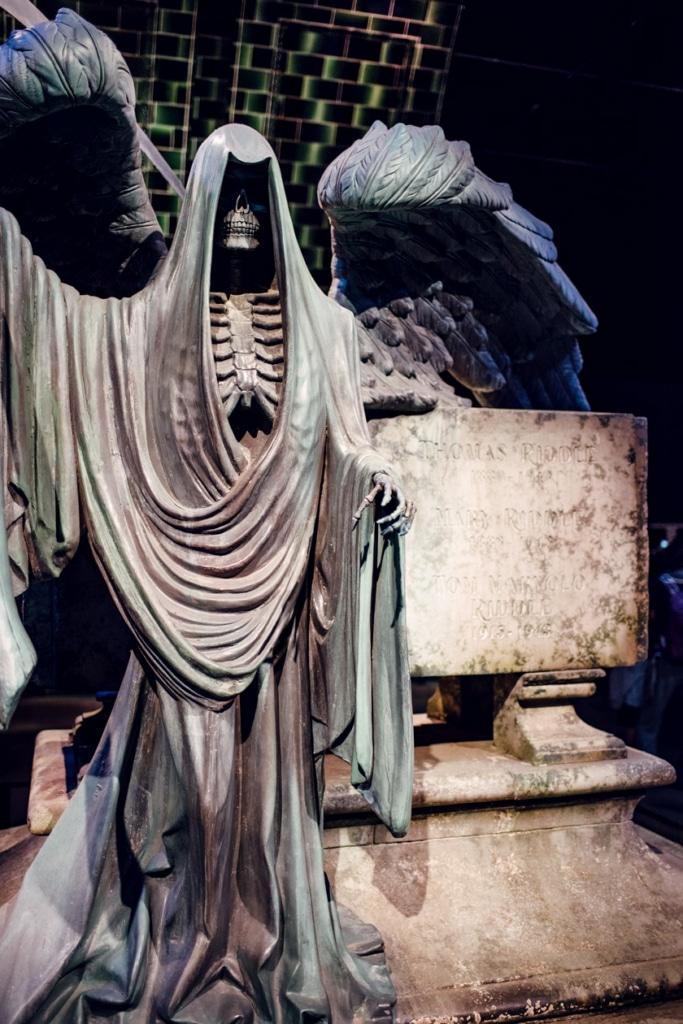 Visite des Studios Harry Potter à Londres – Tombeau de la famille Jedusor